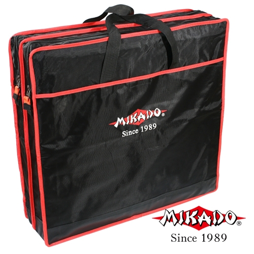 HUSA JUVELNICE 2 COMPARTIMENTE (BLACK/RED) (63x17cm)
