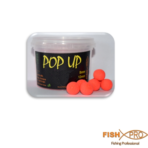 FLUO POP UP 8 mm Red   20g
