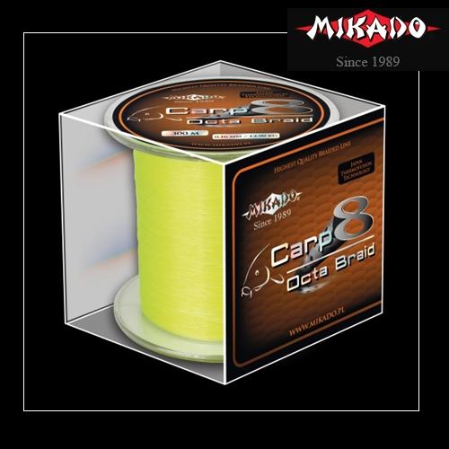 FIR CARP OCTA BRAID  016 FLUO 300M