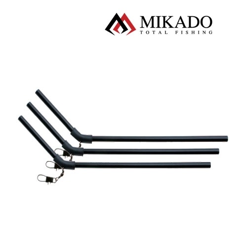 TUB MIKADO ANTITANGLE NEGRU 10CM 3/PLIC