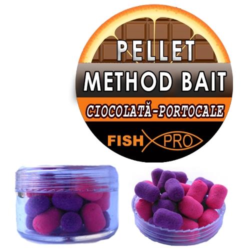 METHOD BAIT-PELLET ORANGE CHOCOLATE