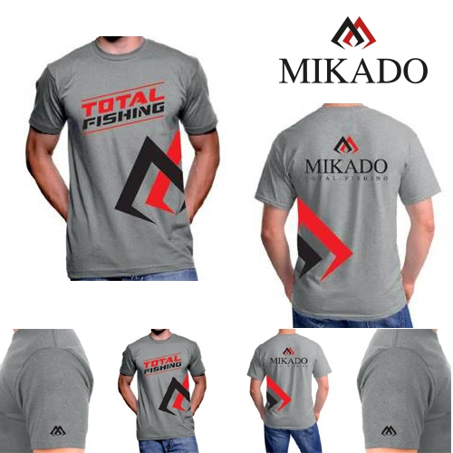 TRICOU MIKADO T-SHIRT REAL GREY-XXL