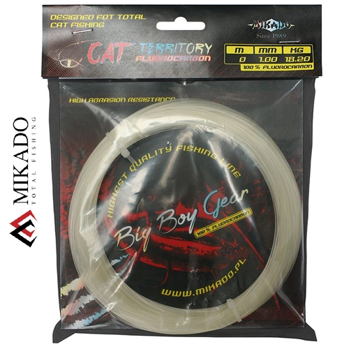 FIR FLUOROCARBON CAT TERRITORY 1.00mm65.00kg30m