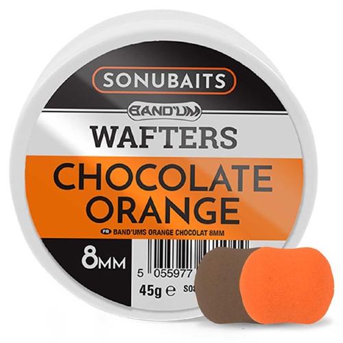SONUBAITS BANDUM WAFTERS-CHOCOLATE ORANGE 8MM