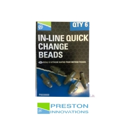 PRESTON IN-LINE QUICK CHANGE BEADS 6buc