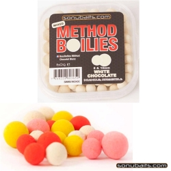SONUBAITS MIXED METHOD BOILIES W.CHOC 8+10mm