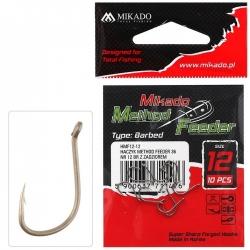 CARLIG MIKADO METHOD FEEDER 36 Nr 12 BR     10buc