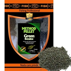 FISH PRO PELETE FEED GREEN BETAINE 2MM 700g