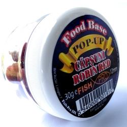 POP-UP FOOD BASE 12 mm CAPSUNI-ROBIN RED