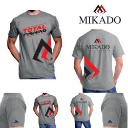 TRICOU MIKADO T-SHIRT REAL GREY- L