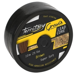 FIR LEADCORE MIKADO GRAVIS BLACK 45LB - 10M