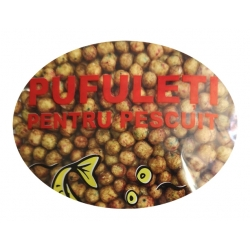 PUFFI MINI - brown - Ciocolata-Portocale 30g
