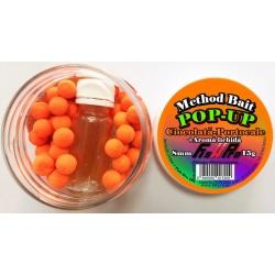 METHOD BAIT POP-UP 8mm + Aroma CIOCOLATA-PORTOCALE