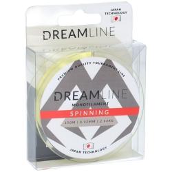 FIR DREAMLINE SPINNING (YELLOW) - 0.18mm  4.79kg  150m