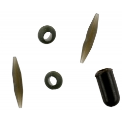 HELICOPTER CHOD COMPLETE SYSTEM WEED/BROWN -3buc