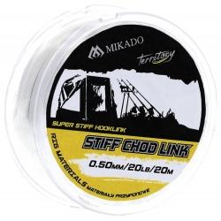 FIR RIGID STIFF CHOD LINK 15LBS 0.40MM - 20M