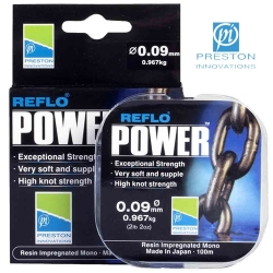 PRESTON FIR REFLO POWER - 0.11mm      100m