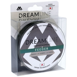 FIR DREAMLINE FEEDER - 0.16mm/4.16kg/300m -GREEN
